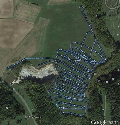 Holstein cave GPS