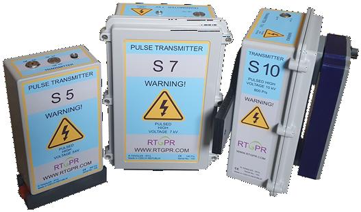 Metal boxes of transmitters